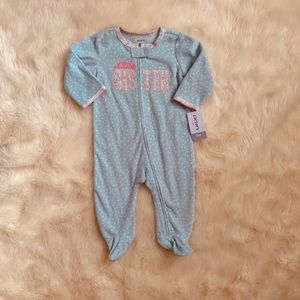 6M fleece zip-up sleep n play